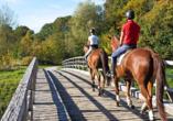 Man sagt das Glück dieser Welt liegt auf dem Rücken der Pferde – erleben Sie einen einmaligen Ausritt in die münsterländische Natur.