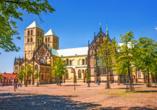 Unternehmen Sie einen Tagesausflug nach Münster.