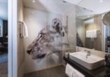 Beispiel eines Badezimmers im the niu Leo