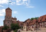 Die Kaiserburg ist das Wahrzeichen der Frankenmetropole.