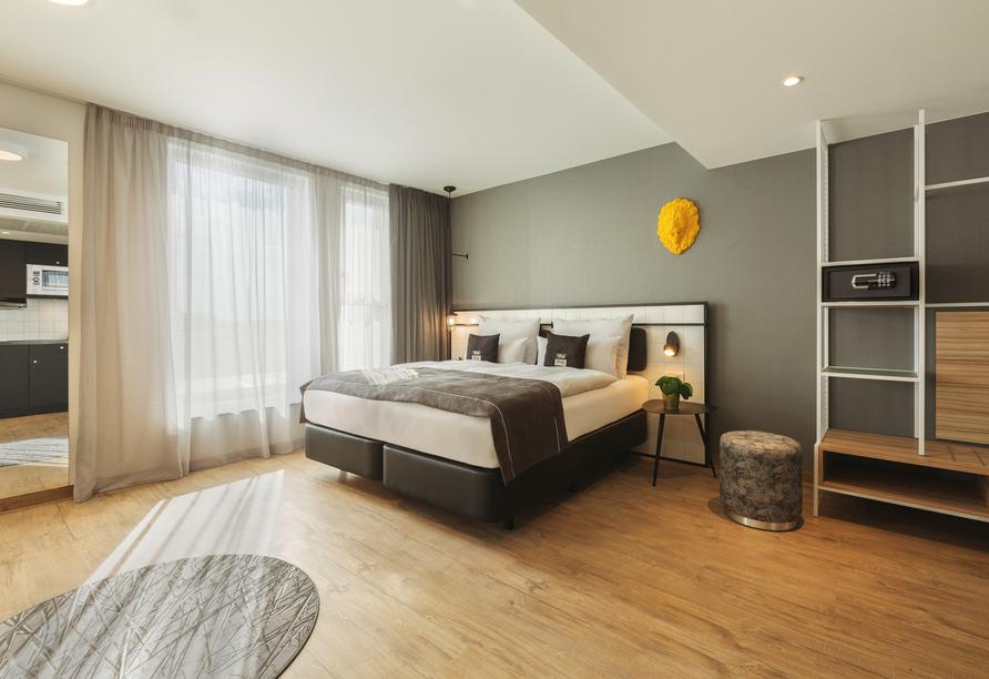 Beispiel eines Doppelzimmers im the niu Leo