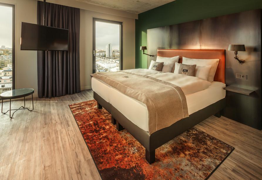 Hotel the niu Fender in Amsterdam, Niederlande, Zimmerbeispiel
