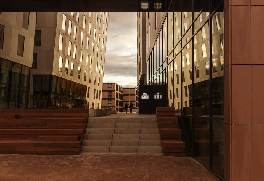 Hotel the niu Fender in Amsterdam, Niederlande, Außenansicht