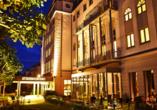 Steigenberger Hotel Bad Homburg, Außenansicht Nacht