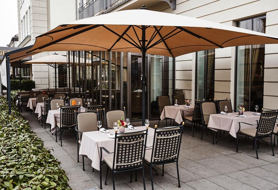 Steigenberger Hotel Bad Homburg, Terrasse