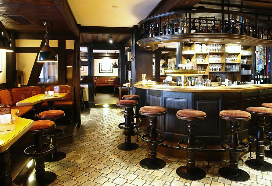 Freuen Sie sich auf leckere Getränke in der Bier- und Weinbar Sachsenklause.
