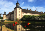 Das UNESCO-Welterbe Corvey zählt zu den wichtigsten Sehenswürdigkeiten im Weserbergland.