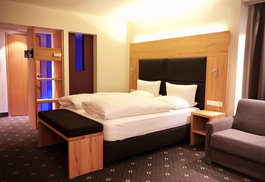 Beispiel eines Doppelzimmers Superior im Ringhotel Nidersachsen