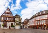 Der ehemalige Corveyer Lehnshof, heute bekannt als Dechanei, zählt zu den meistfotografiertesten Gebäuden Höxters.