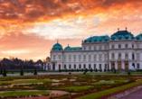 Hotel Kaiserhof Wien, Schloss Belvedere