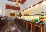 Hotel Kaiserhof Wien, Frühstücksbuffet