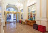 Hotel Kaiserhof Wien, Eingangsbereich