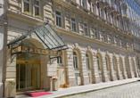 Hotel Kaiserhof Wien, Außenansicht
