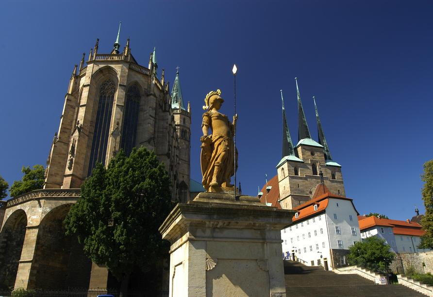Quality Hotel Am Tierpark Gotha, Dom und St. Severikirche in Erfurt