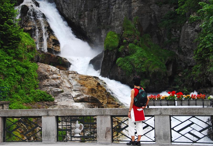 Hotel Alpenblick, Bad Gastein, Österreich, Wasserfall Bad Gastein