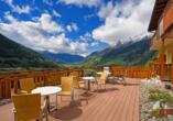 Hotel Alpenblick, Bad Gastein, Österreich, Terrasse