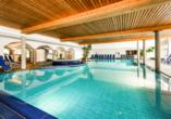 Hotel Edelweiss in Lermoos, Hallenbad