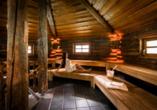 Hotel Edelweiss in Lermoos, Sauna