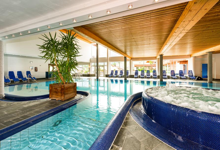 Hotel Edelweiss in Lermoos, Whirlpool