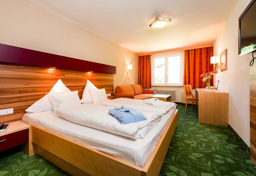 Hotel Edelweiss in Lermoos, Zimmerbeispiel Edelweiss