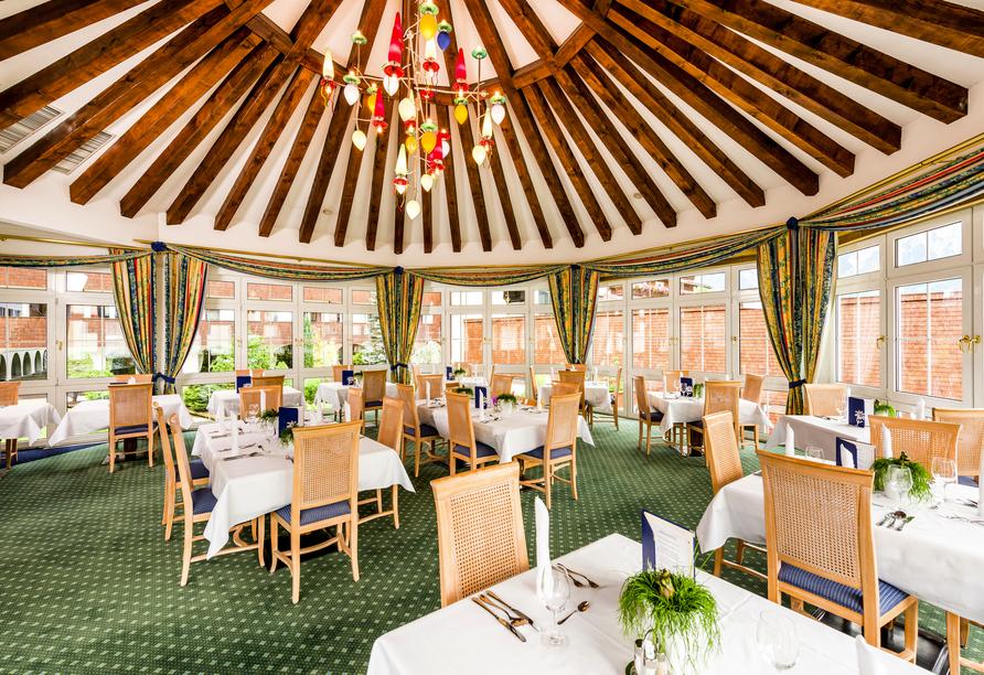 Hotel Edelweiss in Lermoos, Beispiel Buffet-Speisesaal