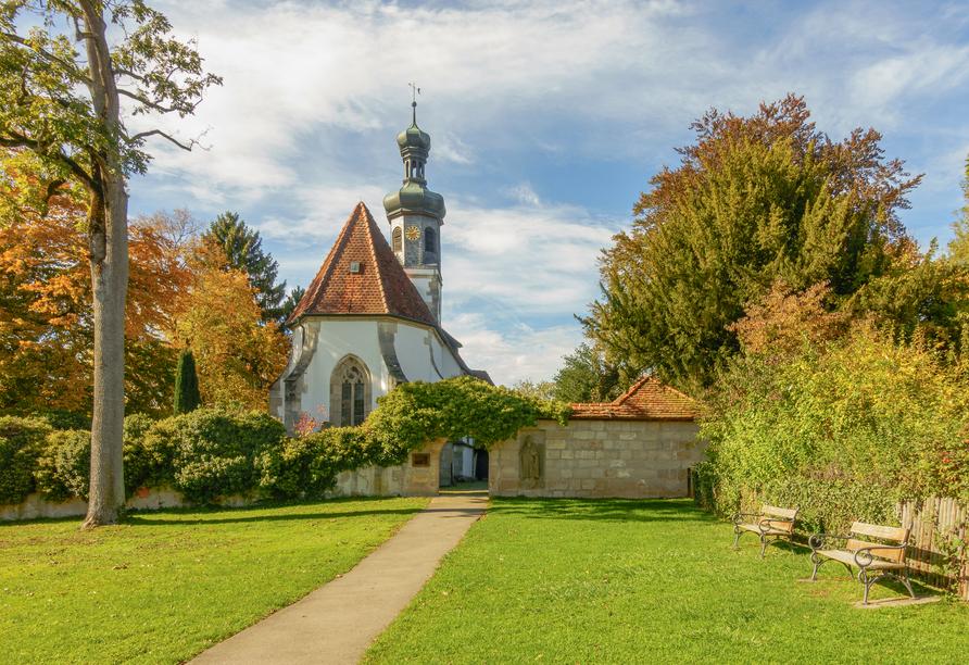 Die Ulrichskapelle im Kloster Adelberg bei Göppingen ist einen Besuch wert.
