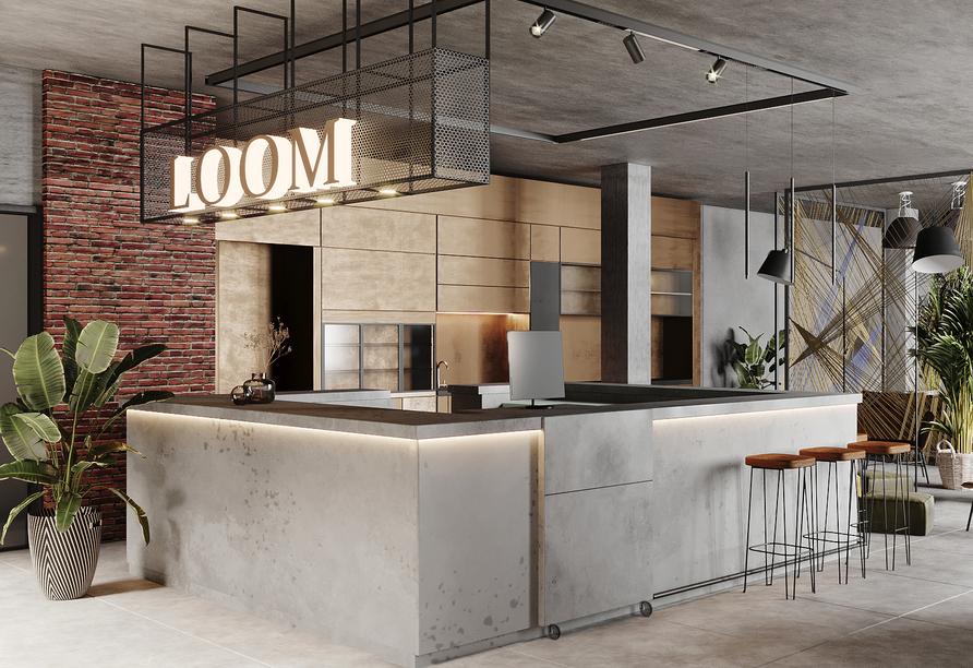 Herzlich willkommen im Hotel LOOM!