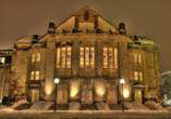 Besuchen Sie das Theater Osnabrück.