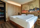 Ostsee Resort Dampland, Beispiel Familiensuite Doppelbett