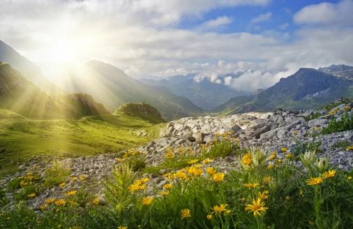Berghotel Basur in Flirsch, Urlaubsregion Vorarlberg