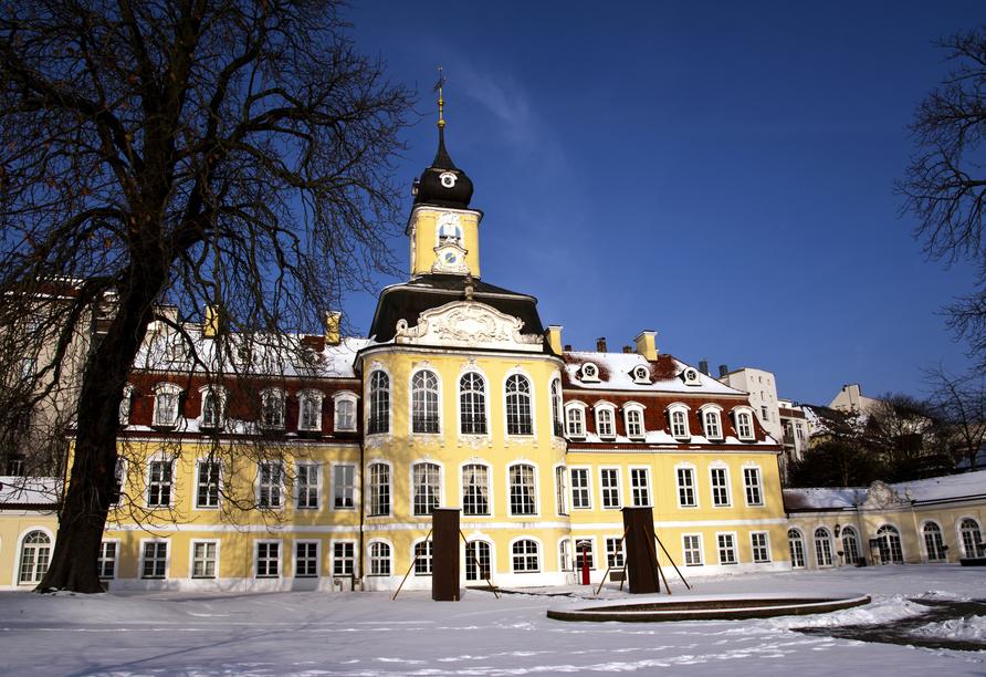 Hotel am Rossplan in Altenburg, Gohliser Schlösschen Leipzig