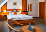 Hotel am Rossplan in Altenburg, Beispiel Doppelzimmer
