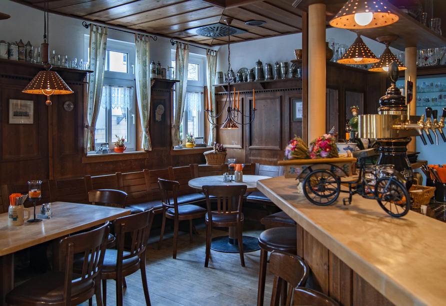 Hotel am Rossplan in Altenburg, Bar