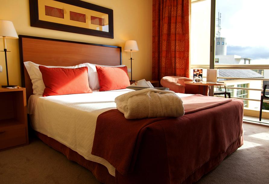 Beispiel eines Dopppelzimmers im São Miguel Park Hotel