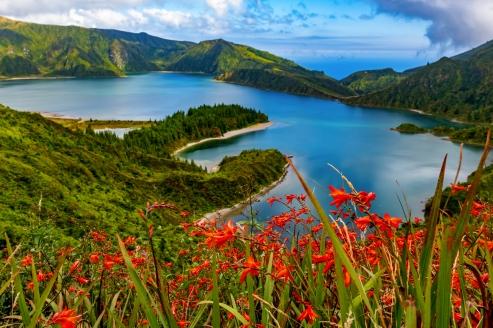 Der Lagoa do Fogo ist für viele der schönste Kratersee der Azoren.