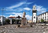 Ihr Urlaubsort Ponta Delagada begeistert insbesondere mit einem schönen Zentrum.
