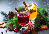 Hotel am Rossplan in Altenburg, weihnachtliches Getränk