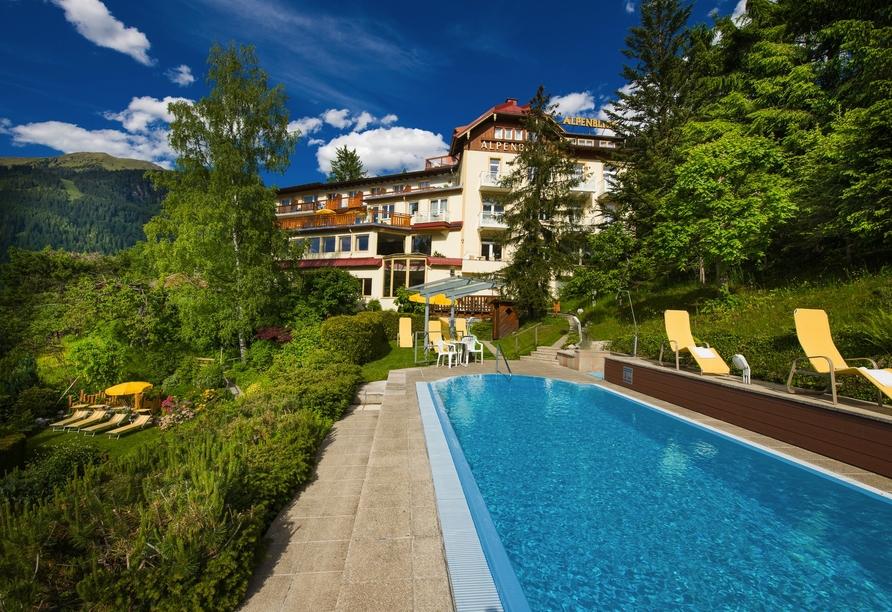 Hotel Alpenblick, Bad Gastein, Österreich, Außenpool