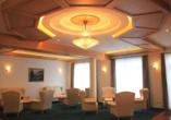 Lobbybereich im Hotel Schwabenwirt