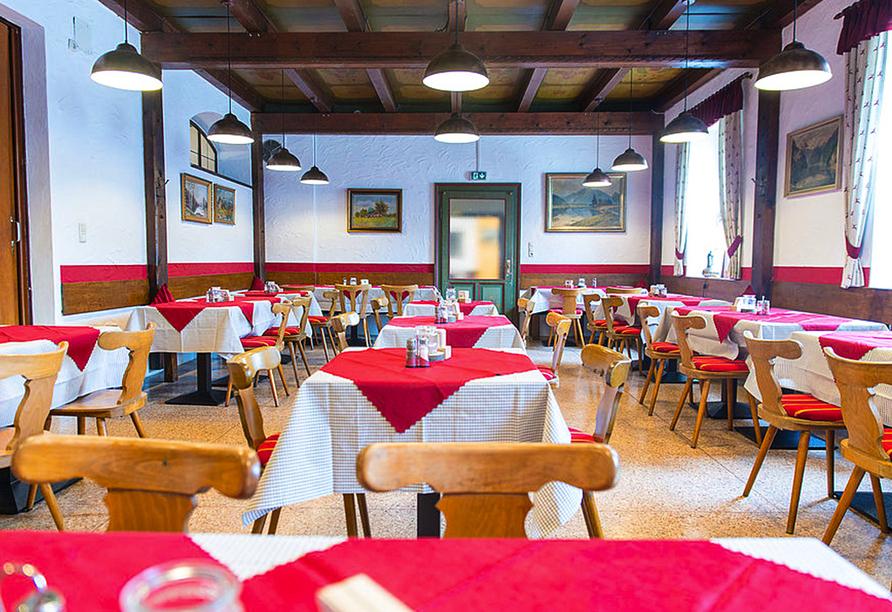 Restaurant im Hotel Schwabenwirt in Berchtesgaden