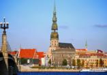 Die historische Altstadt von Riga weist eine unglaubliche Vielfalt an architektonischen Stilrichtungen auf.