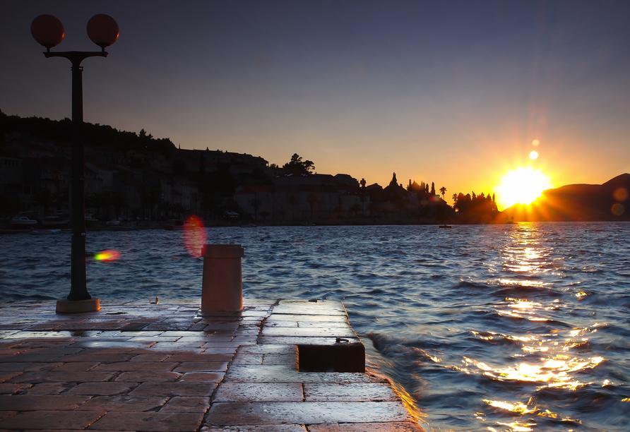 Blaue Reise Dalmatien, Hafen