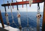 Blaue Reise Dalmatien, Aussicht Schiff