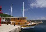 Blaue Reise Dalmatien, Ansicht Schiff