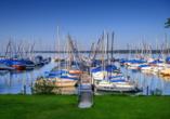 Marina Yachthafen von Bernried