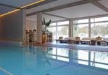 Im Marina Hotel erwartet Sie ein schöner Wellnessbereich.