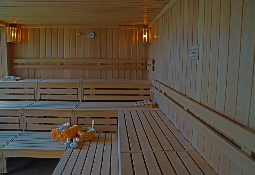 Hotel-Restaurant Gersfelder Hof, Finnische Sauna