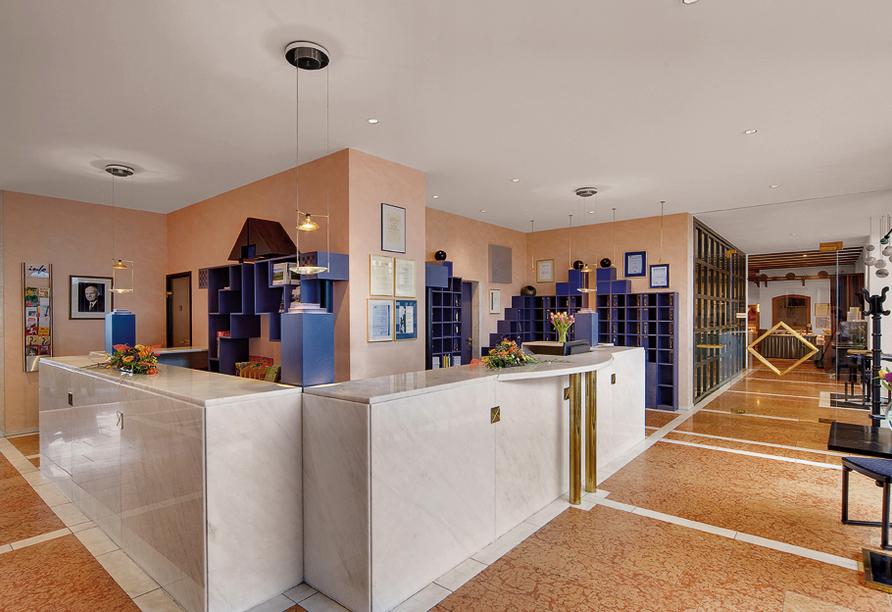 Hotel-Restaurant Gersfelder Hof, Lobby