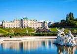 Das Schloss Belvedere ist ein einzigartig schönes Fotomotiv und sollte auch in Ihrer Ulaubsgalerie nicht fehlen.