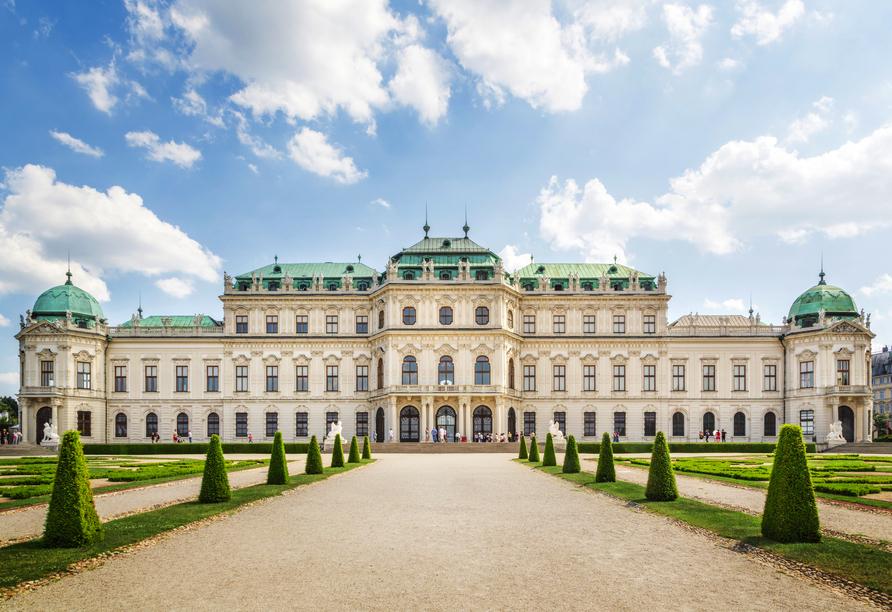 Das Schloss Schönbrunn ist der beliebteste Ausflugspunkt in Wien.